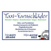 SV Germania Salchendorf Sponsor Taxi Tarnschläder